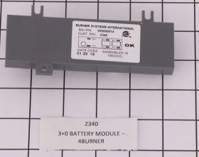 2340 3+0 BATTERY MODULE - 4BURNER