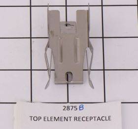 2875B TOP ELEMENT RECEPTACLE