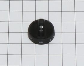 6476 SURFACE ELEMENT KNOB - BLACK