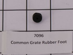 7096 Common Grate Rubber Foot