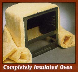 Completely Insulated Oven